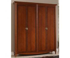 Armario 4 puertas clásico Dioniso