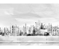 cuadro con marco papel foto city
