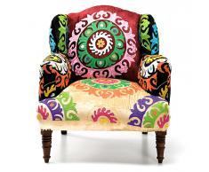 Butaca Vintage Patchwork Mandala