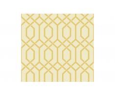 Rollo de papel pintado geometrica cenefa