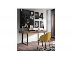 Mesa de escritorio 3 cajones industrial Loft