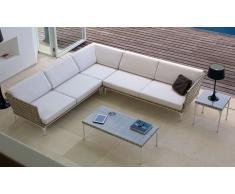 Sofá modular de jardín Brafta