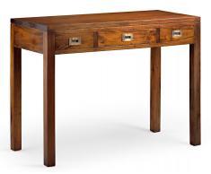 Mesa de escritorio 3 cajones Colonial Flamingo