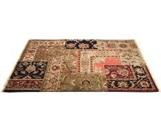 Alfombra persa patchwork