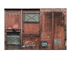 Panel papel pintado vagón de tren