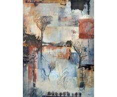 Cuadro Collage Abstracto sobre lienzo Ref. 45