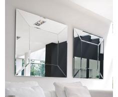 Espejo moderno Cuadrado Costantia Tonin Casa