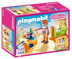 Playmobil 5304 Habitacion Del Bebe Con Cuna