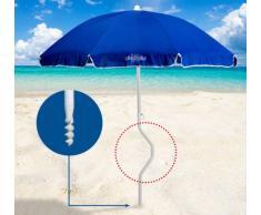 Sombrilla de playa Girafacile 180 cm algodòn