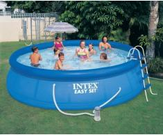 Intex 28166 piscina hinchable autoportante elevada Easy Set redonda...