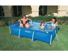Piscina autoportante elevada Intex 28272 Frame rectangular 300 x 20...