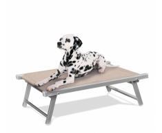 Tumbona perro cama animales aluminio DOGGY