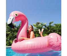 Colchón de Intex 56288 flamenco rosado flotantes gigantes inflables...