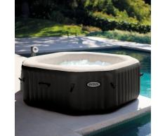 Hidromasaje hinchable Intex 28456 Jet Bubble spa cuadrado clorado 2...