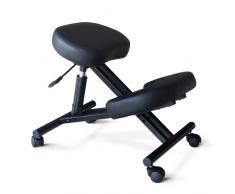Silla ortopédica taburete de metal de oficina ergonómica
