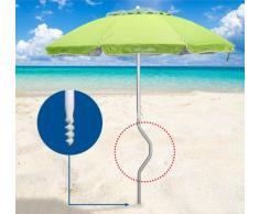 Sombrilla de playa Girafacile 200 aluminio protecciòn uv