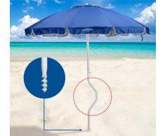 Sombrilla de playa Girafacile 220 cm protecciòn uv
