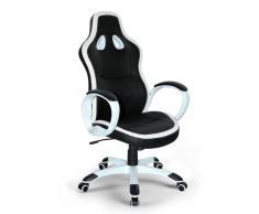 Silla de oficina deportiva sillòn gaming comoda ergonomica racing S...