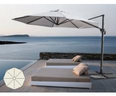 Parasol excentrico sombrilla de jardin 3 mt aluminio octogonal PARA...