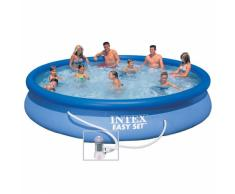 Intex 28158 piscina hinchable autoportante elevada Easy Set redonda...