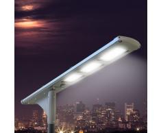 Lámpara solar FULLMOON 72 Super Led 5000 Lumen para las carreteras ...