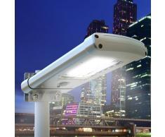 Lámpara solar 24 Led para jardín parque STREET Design