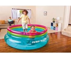 Saltador elástico inflable doble para niños Intex 48267 Jump-O-Lene