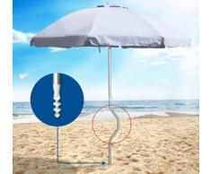 Sombrilla de playa Girafacile 220 aluminio protecciòn uv EOLO