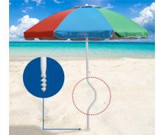 Sombrilla de playa Girafacile 200 cm protecciòn uv