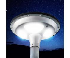 Lámpara Led Solar fotovoltaica jardín parque SQUARE