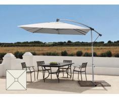 Parasol jardín 2,5 metros excéntrico aluminio cuadrado bar hotel