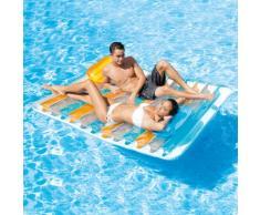 Colchón flotante Intex 56897 Doble dos lugares en la piscina