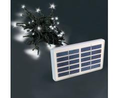 Luces de Navidad solares 100 LED àrbol jardin exterior balcon