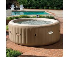 Hidromasaje hinchable Intex 28404 Bubble spa redonda 196x71