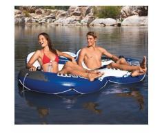 Intex 58837 River Run 2 rosquilla colchón doble piscina lago marino...