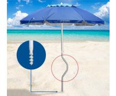 Sombrilla de playa Girafacile 200 aluminio protecciòn uv AFRODITE