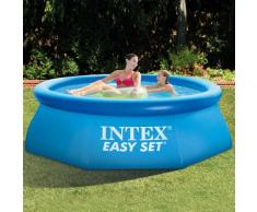 Intex 28112 piscina hinchable autoportante elevada Easy Set redonda...