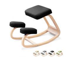 Silla taburete postural ergonomía sueco oficina de madera SWING