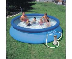 Intex 28132 piscina hinchable autoportante elevada Easy Set redonda...