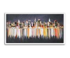 Cuadro moderno pintura al óleo 120x60cm - Sokal