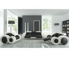 Salón de piel relax – Pierce- sofá 3 plazas + 2 plazas + sillón