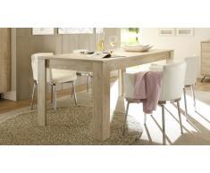 Mesa de comedor rectangular con larguero 180/228 cm - Nekho