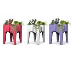 Jardinera de exterieur - Conjuto de 4 mesas vegetales M - Gary