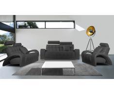 Salón piel (sofá 3p + sofá 2p + butaca + puf) - Vratsa