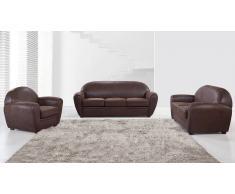 Jazzy - Salón en microfibra con sofá de 3 pl + de 2 pl + sillón