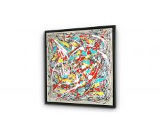 Cuadro moderno pintura al óleo 80x80 cm - Zavhan