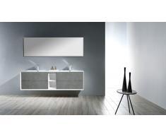 Mueble de lavabo doble - Floy