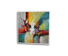 Cuadro moderno pintura al óleo 100x100 cm - Bulgan