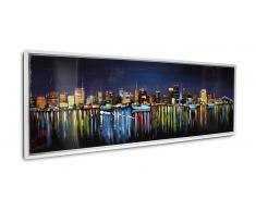 Cuadro moderno pintura al óleo 150x50 cm - Orhon