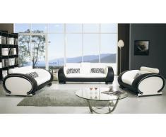 Okyo - Salón de piel (sofá 3 plazas, sofá 2 plazas, butaca 1 plaza)